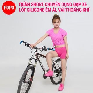 Quần lót đi xe đạp cho nữ POPO thoáng khí, êm ái, thoát mồ hôi, chất liệu cao cấp thumbnail