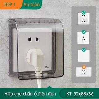 Nắp che chống nước ổ điện mang đến nhiều chức năng tiện lợi Xhome88 thumbnail