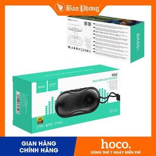 Loa Bluetooth TWS HOCO BS36- Chính hãng