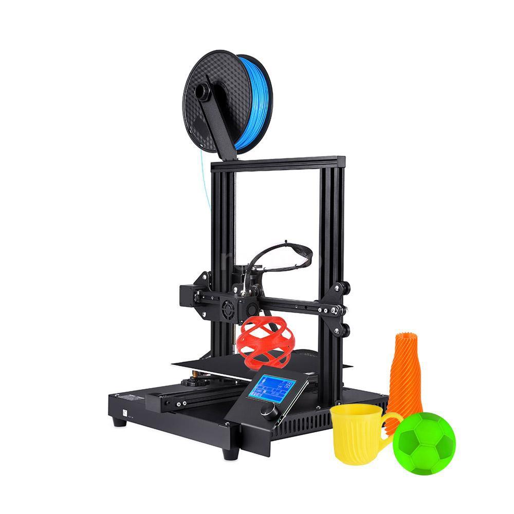RCC💘Creasee CS-3 3D Printer DIY Kit Ultra-Thin Metal Base High Precision Rapid Self-Assembly Resume