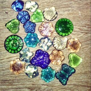 Bộ 20 viên sỏi đá, 30-140 viên bi keo các loại