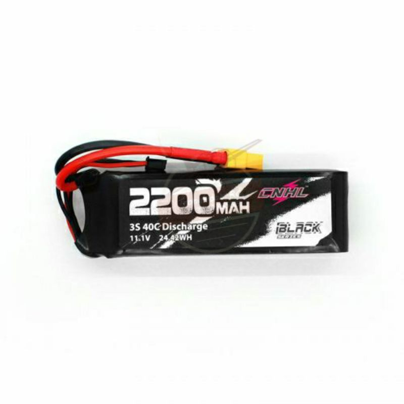 Pin CNHL BLACK SERIES 2200MAH 3S 11.1V 40C LIPO BATTERY WITH XT60 PLUG
