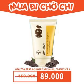 Sữa Rửa Mặt Tro Núi Lửa Innisfree Jeju Volcanic Pore Cleansing Foam FREESHIP Sữa Rửa Mặt Tro Núi Lửa HALIN6864