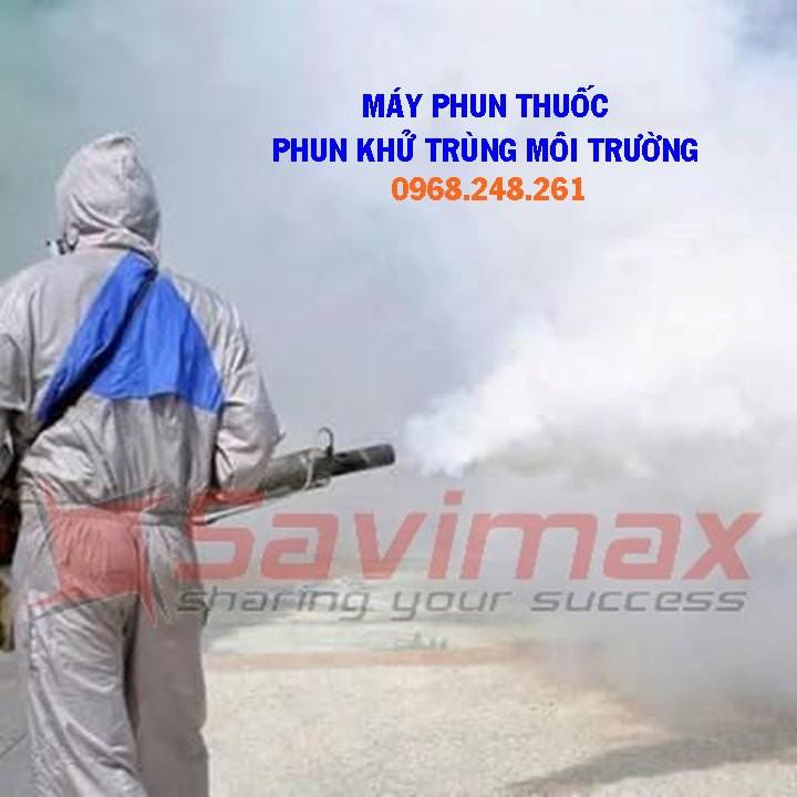 Máy phun Clo.ramin B  khử trùng các tàu tại Ga Hà Nội, máy phun khói Hàn Quốc VNPK 150SK