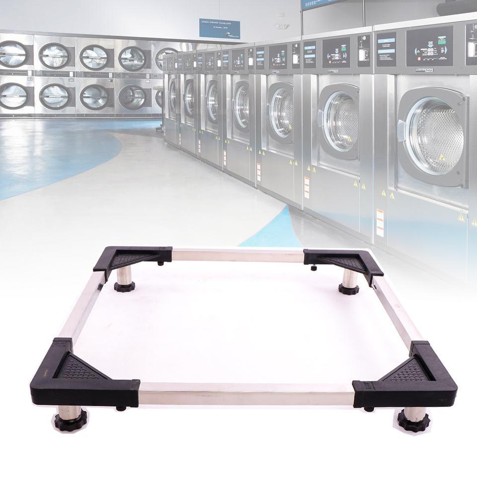 Kệ chân inox đa năng để máy giặt, tủ lạnh