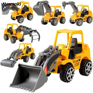 Mermaid Engineering Vehicle Car Model Excavator Educational Funny