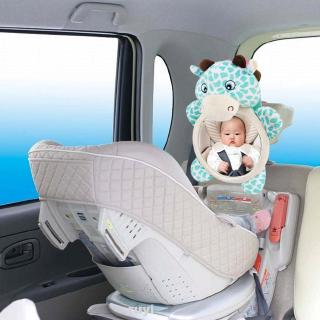 Adjustable Back Seat Car Interior Easy View Infants Plush Doll Rear Facing Toddler Useful Baby Rearview Mirror