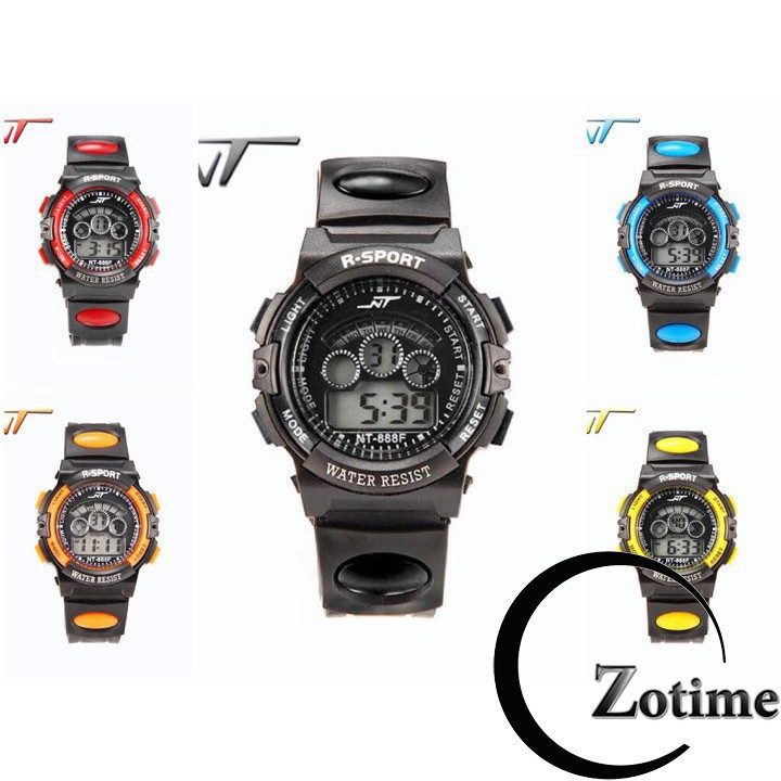 Đồng hồ trẻ em Dotime đồng hồ đeo tay thời trang phong cách thể thao khỏe khắn ZO12