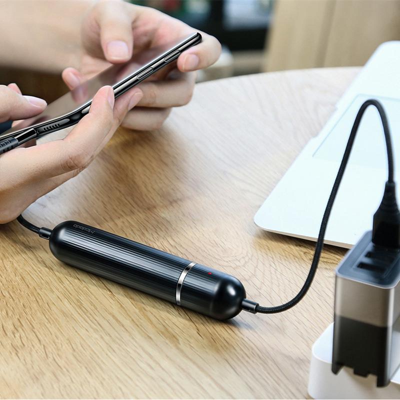 Cáp dữ liệu sạc nhanh Mcdodo 2500mAh cho iPhone 6 6S X 8 Plus 7P