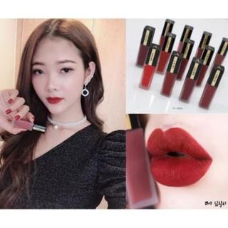 ✅ (HÀNG CHUẨN AUTHENTIC) Son Kem Lì A. BLACK Artistic Velvet Tint Lux Red by CLIO COSMETICS
