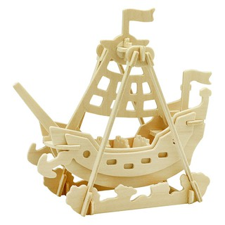 [FOLLOW SHOP 9K – 14h, 21/9 ] Mô hình gỗ Robotime Con tàu JP264