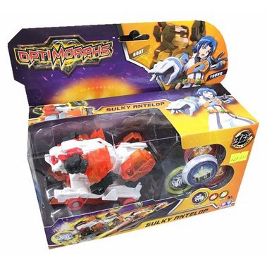 đồ chơi Xe biến hình bạch dương quyền năng-optimorphs 2