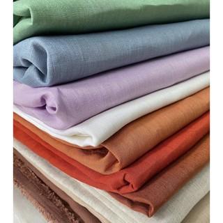 Vải Linen Tưng Premium/Pure Linen Khổ 1m40