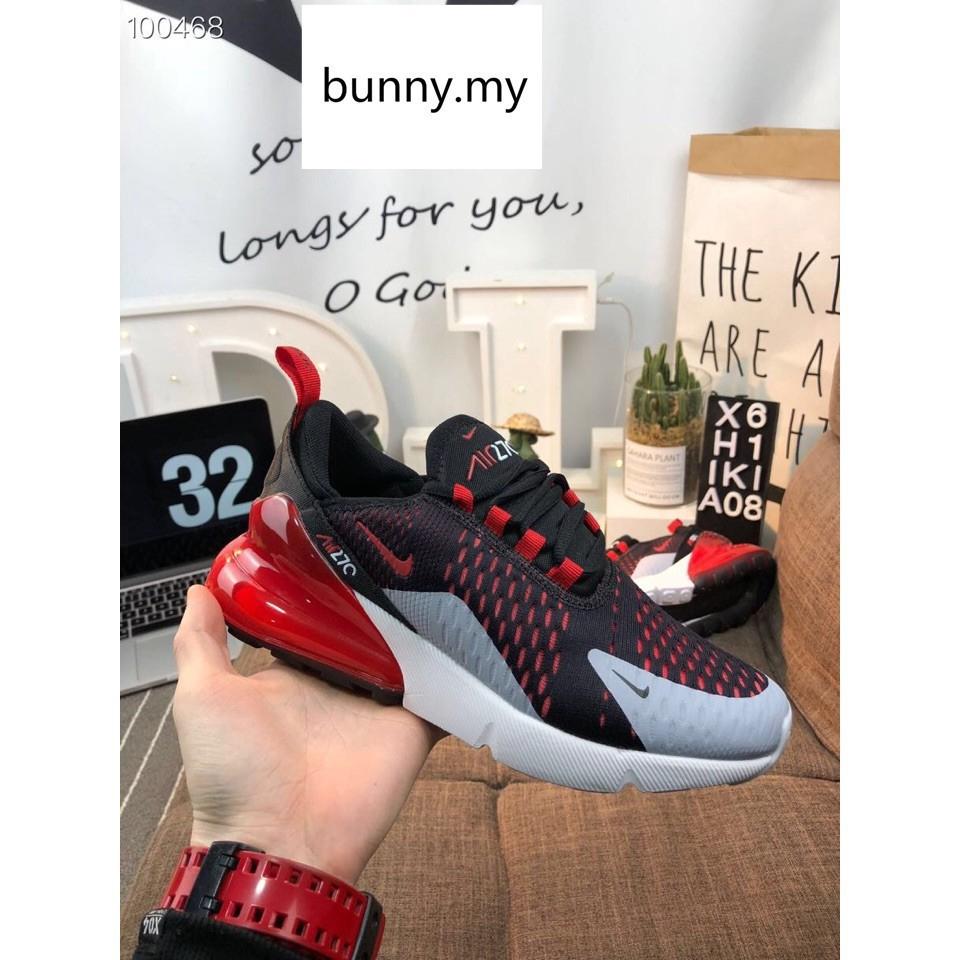 รองเท้าผู้ชาย ผู้หญิง รองเท้าผ้าใบ แท้ รองเท้ากีฬา รองเท้าวิ่ง Nike Air Max 270 women men running shoes size:36-44