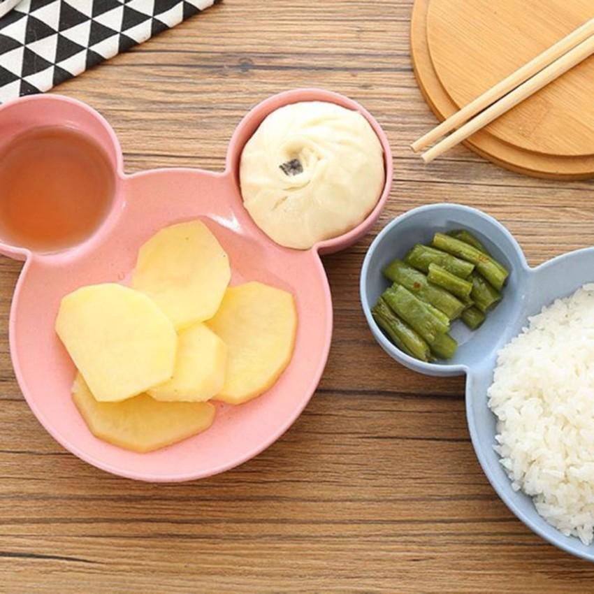 Bộ bát lúa mạch hình thỏ cho bé ăn dặm kiểu Nhật