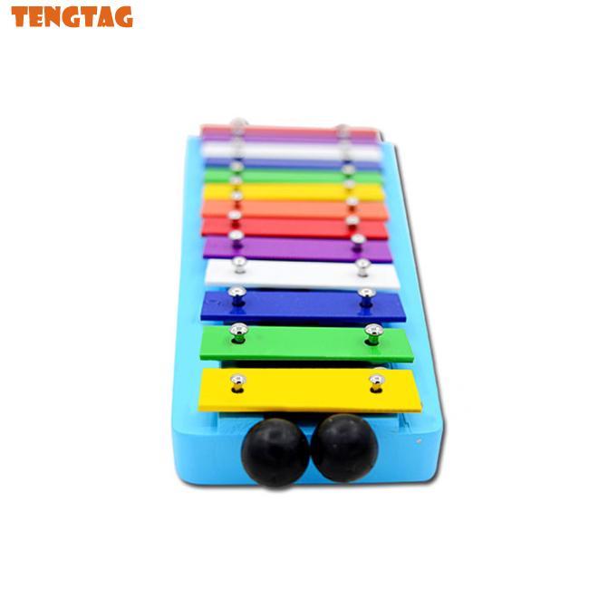 13 Tone Kid Glockenspiel Xylophone Note of Educational Rhythm