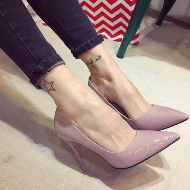 ( ORDER ) Giày cao gót bigsize 34-45