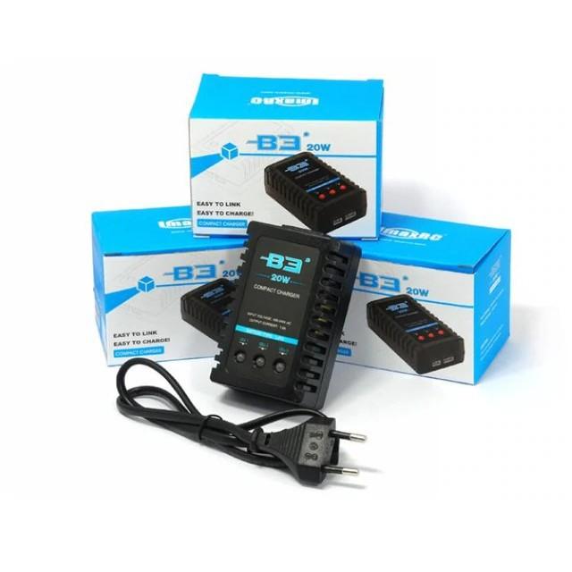 Sạc pin Lipo 2s, 3s 7.4V 11.1V Imax B3 20W pro chính hãng, dòng sạc 1.6A tốc độ sạc nhanh gấp đôi B3 truyền thống