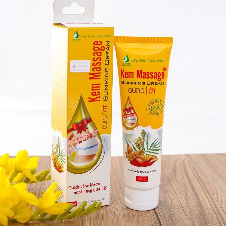 Kem Massage Tan Mỡ Bụng Ngân Bình 150g