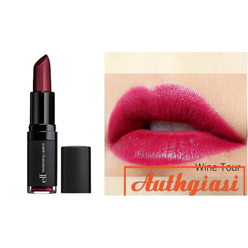 Son giữ ẩm môi Elf Moisturizing Lipstick màu đỏ rượu