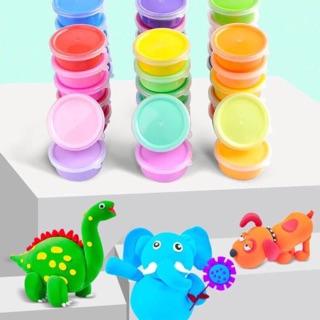 Bộ đồ chơi đất nặn cho bé 24 màu và 60 khuôn