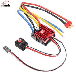 Hobbywing QuicRun ESC 1:10 1/8 1080 WP Crawler Brush Brushed 80A Electronic Speed Controller