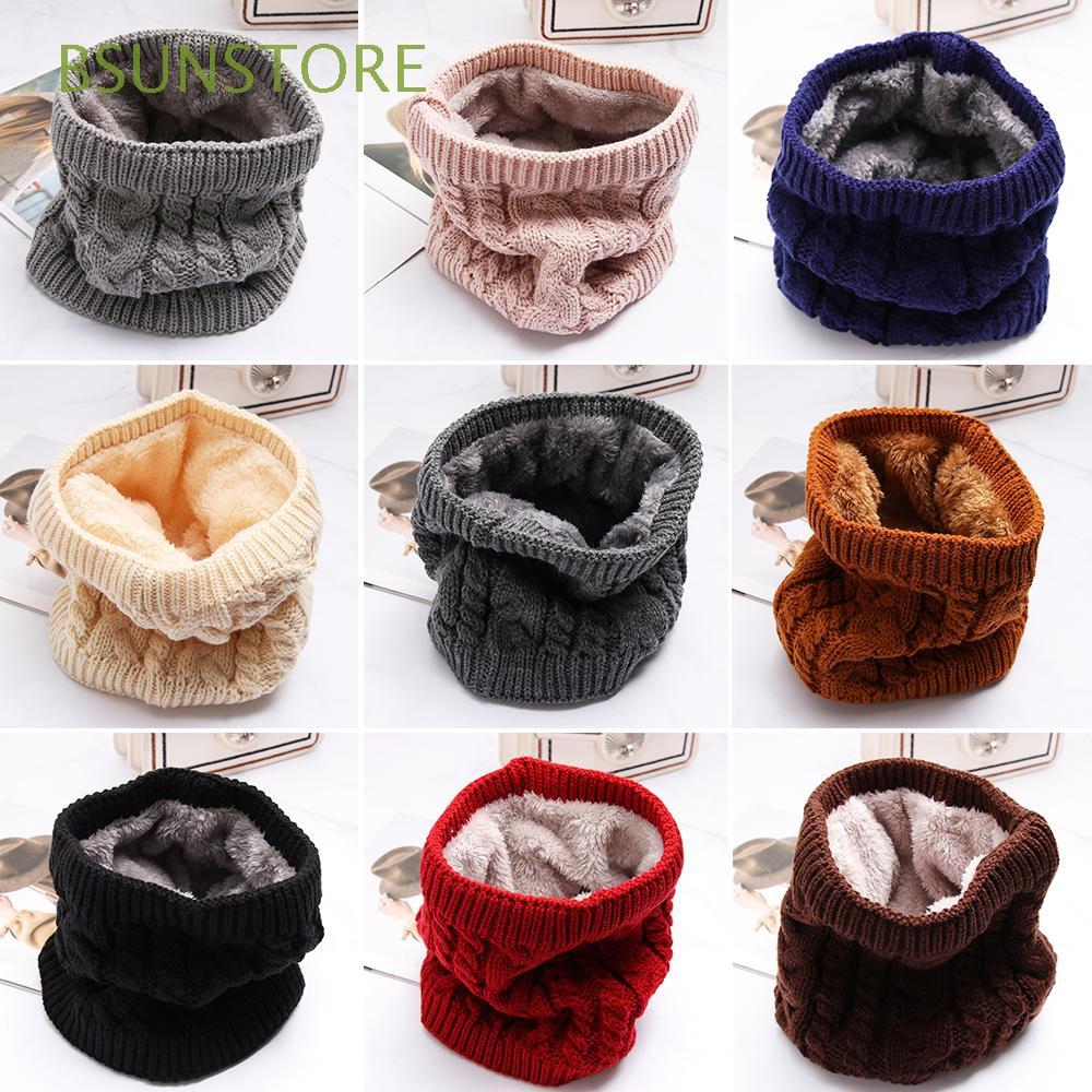 Khăn len đan giữ ấm cổ thời trang cho nữ
