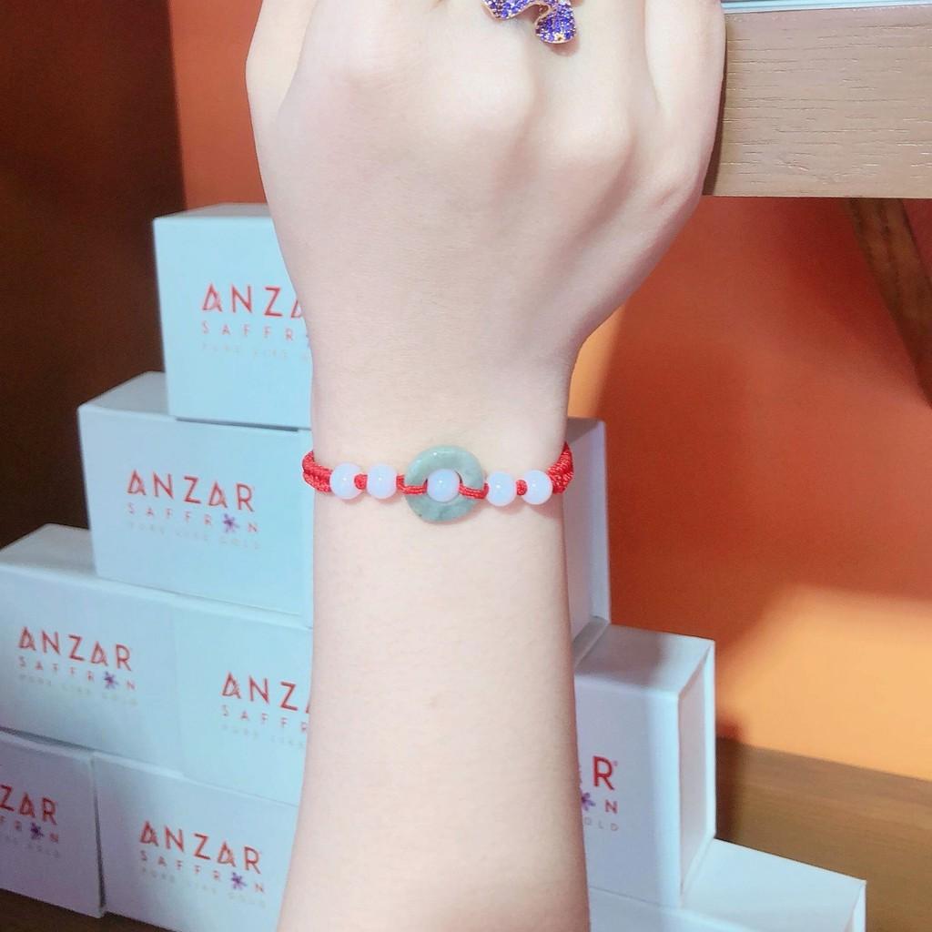 Vòng tay handmade Phỉ thúy Bình an - ANCARAT - VT25