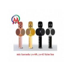 mic karaoke ys-63 kèm loa