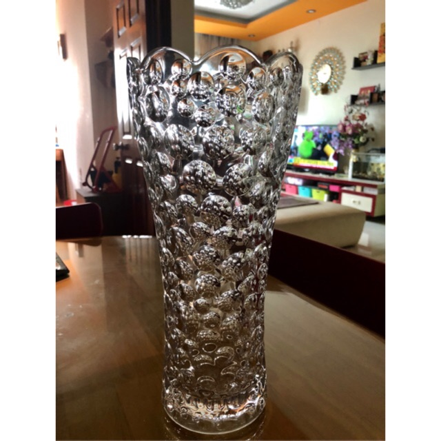 Bình cắm hoa thuỷ tinh cao 30cm