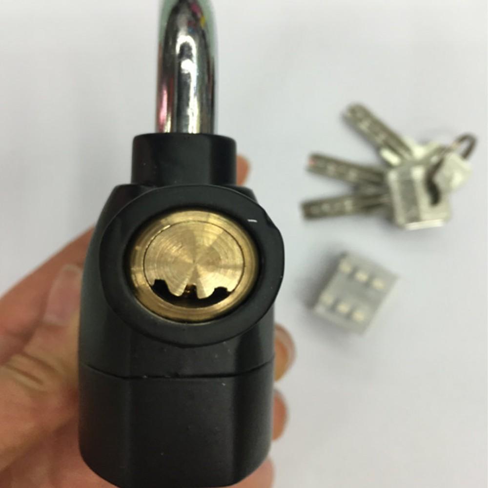 Khóa Chống Trộm Xe Máy Thông Minh Có Còi Báo Động, Ổ Khóa Chống Trộm Thế Hệ Mới Alarm Lock Nhỏ Gọn Chống Nước - XiMart