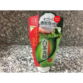 {Chính hãng - Ảnh thật} Sữa rửa mặt trà xanh Rohto Shirochasou Nhật Bản 120g