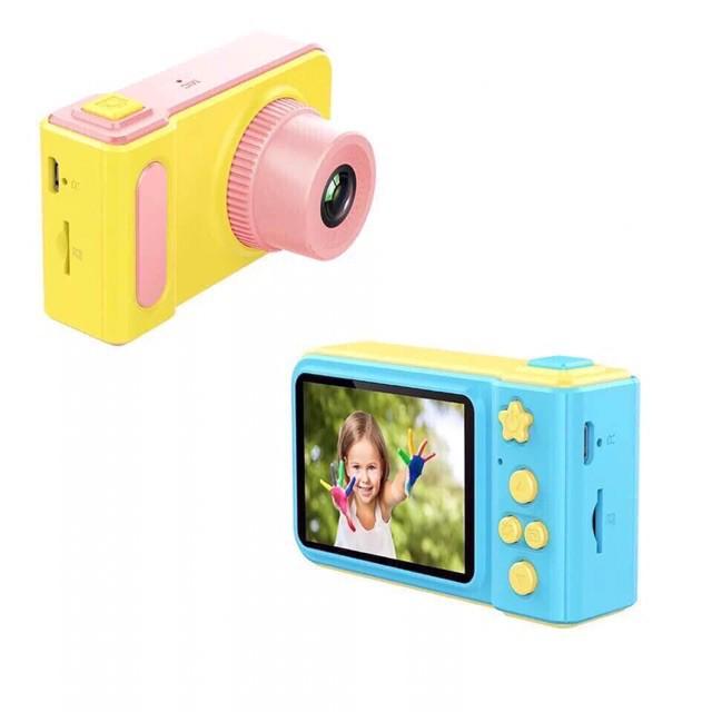 Máy ảnh mini kèm thẻ nhớ 32g dành cho bé mại zô