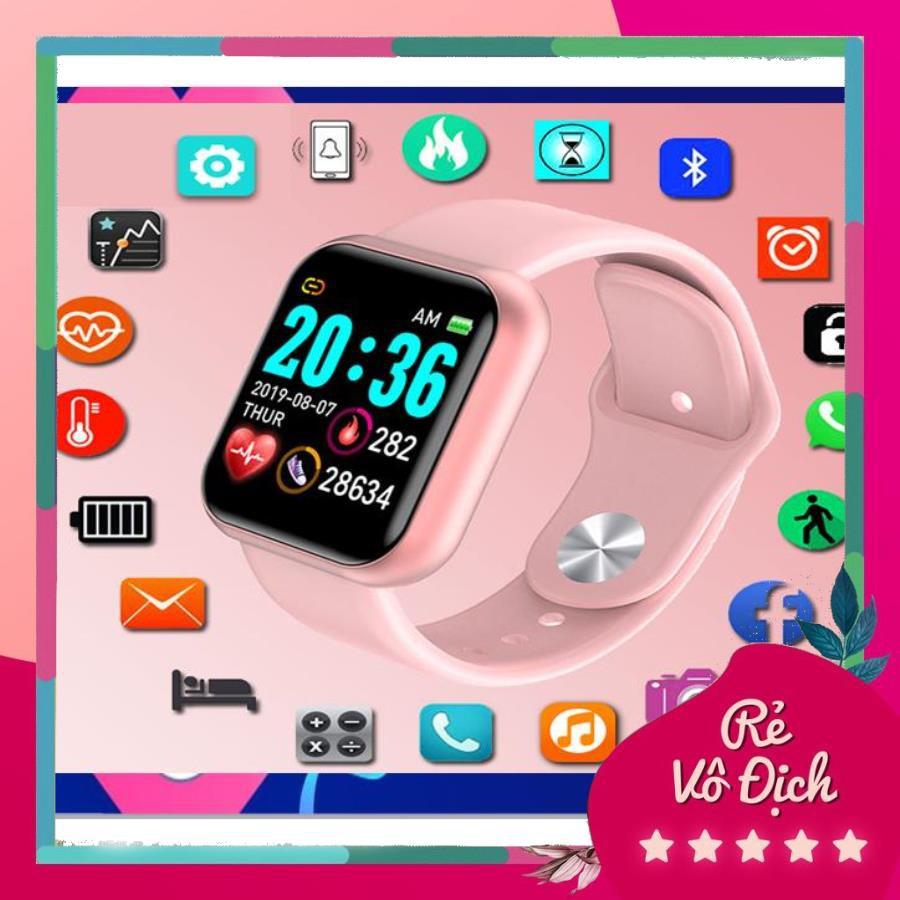 Đồng hồ thông minh trẻ em Y68 chống nước Có Tiếng Việt - Wifi thumbnail