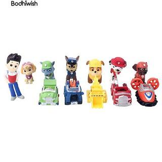 ☎12pcs Patrol baubles Plastic Mini Puppy Dog Action Figures kids Gifts