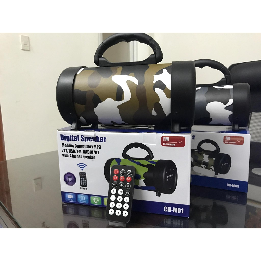 Loa Bluetooth M01 (có remote điều khiển)