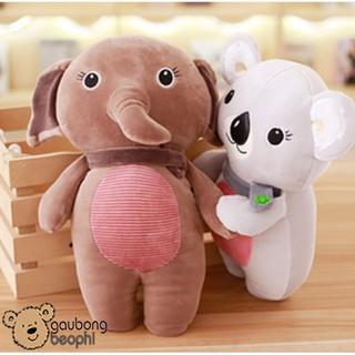 Gấu Bông Lơn, Heo Hồng Choàng Khăn Cổ – Vải Nhung Siêu Mịn – Quà Tặng Valentine 14/2 Cho Nàng