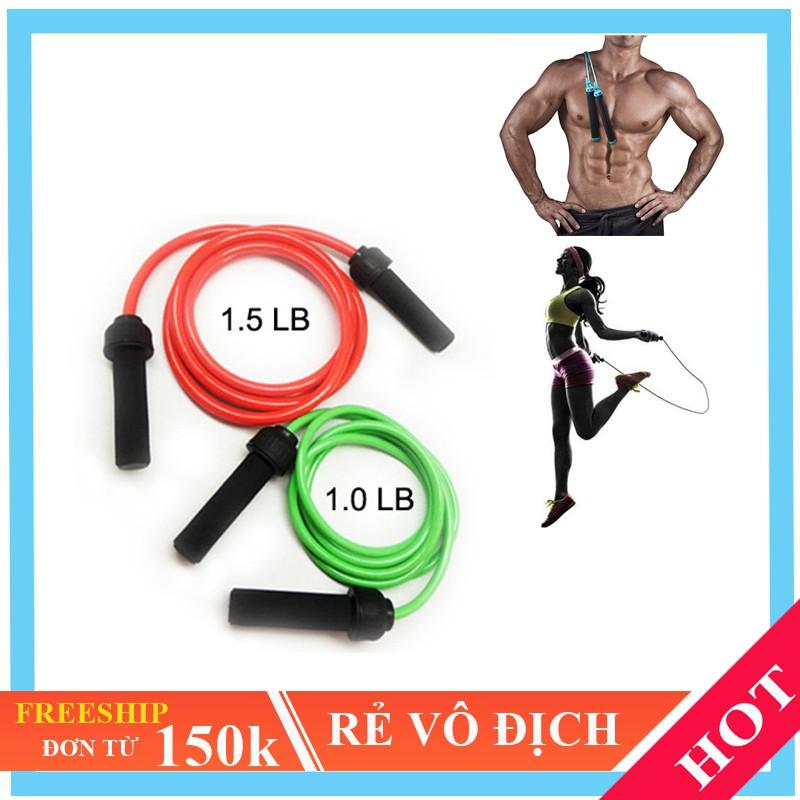 dây nhảy boxing loại nặng [FREESHIP]- nhảy dây giảm cân kickfit đốt mỡ