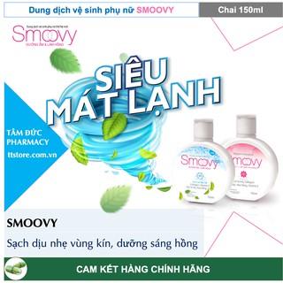 SMOOVY - SMOOVY COOL 150ml - Dung Dịch Vệ Sinh Phụ Nữ Smoovy [Smovy, smuvy, smovy cool] 2
