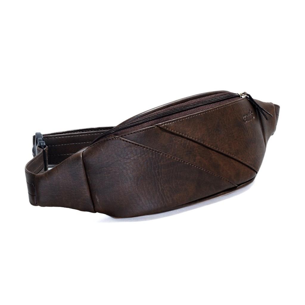 Túi da đeo ngực CNT unisex TĐX 40 phong cách hàn quốc