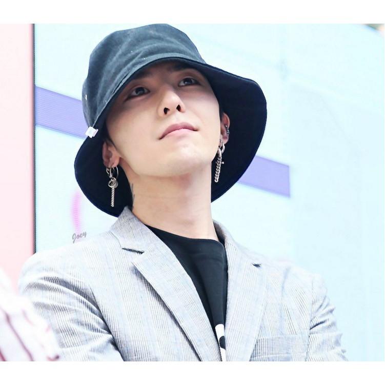 Khuyên Tai Kim Loại Dạng Chuỗi Loại 2  thánh Giá G-Dragon - Trùm Unisex