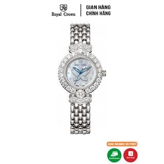 Đồng hồ nữ chính hãng Royal Crown 3844 Stainless Steel Watch thumbnail