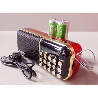 [ Siêu rẻ ] Loa usb,thẻ nhớ,FM BKK K51 - Đèn Pin Cực Sáng