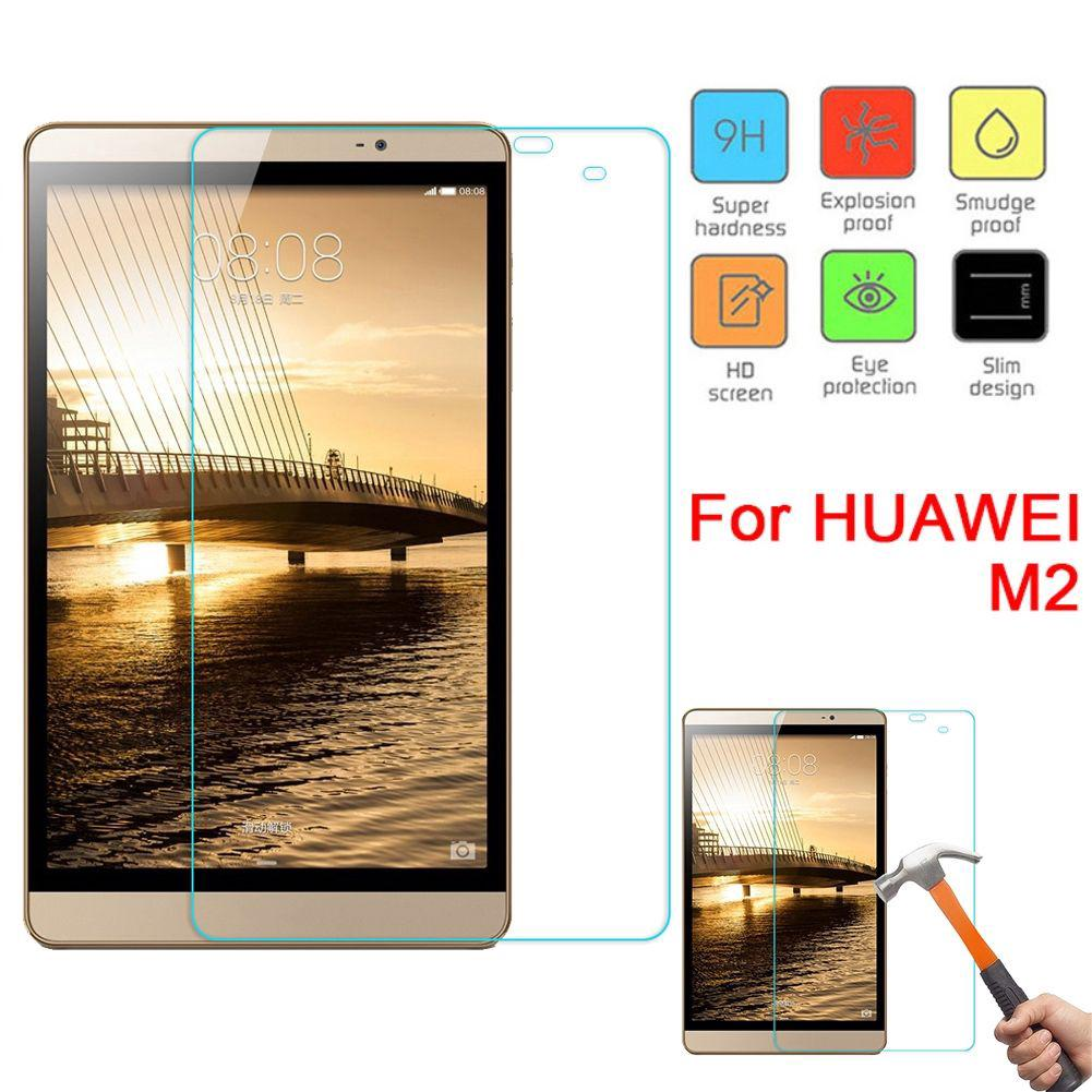 Anti-scratch advanced tempered film screen protector for Huawei M2 tablet 8 inch 20te