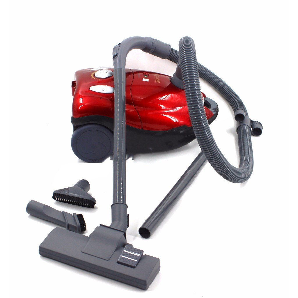 Máy hút bụi Vacuum Cleaner JK-2007 (Đỏ) 2400W cực nhanh