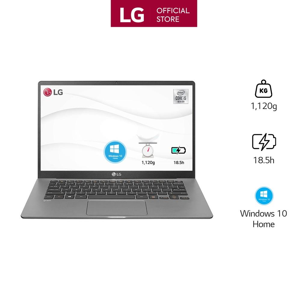 [Mã ELLIXI giảm 10% đơn từ 1TR] Laptop LG Gram 2020 15Z90N-V.AR55A5 (Core i5-1035G7/8GB/512GB/Win10 Home/Silver)