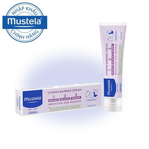 Kem ngăn ngừa và điều trị hăm tã Mustela Vitamin Barrier Cream