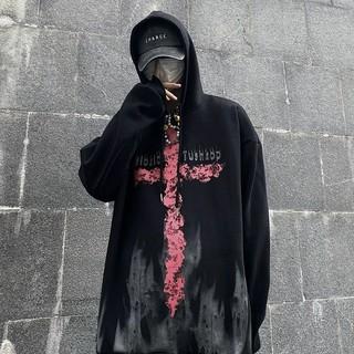 (SẴN) Áo hoodie Pink Cross ulzzang unisex 💥 DT1104