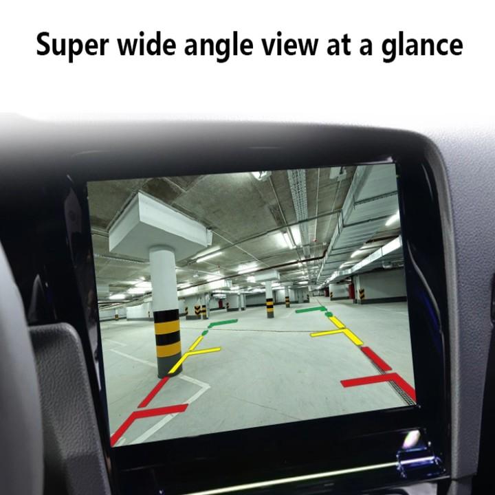 Camera lùi 4 chân, hồng ngoại hỗ trợ nhìn ban đêm, chống nước, dài 5.5m (Màu đen)