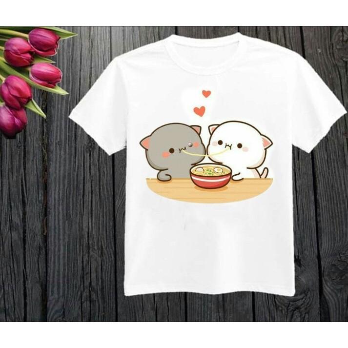 áo thun mèo cute